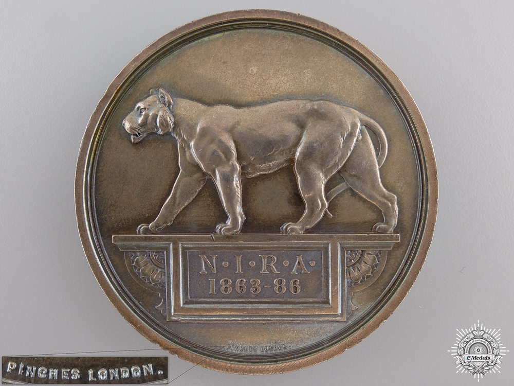 eMedals-A 1889 Bengal Presidency Rifle Association Medal
