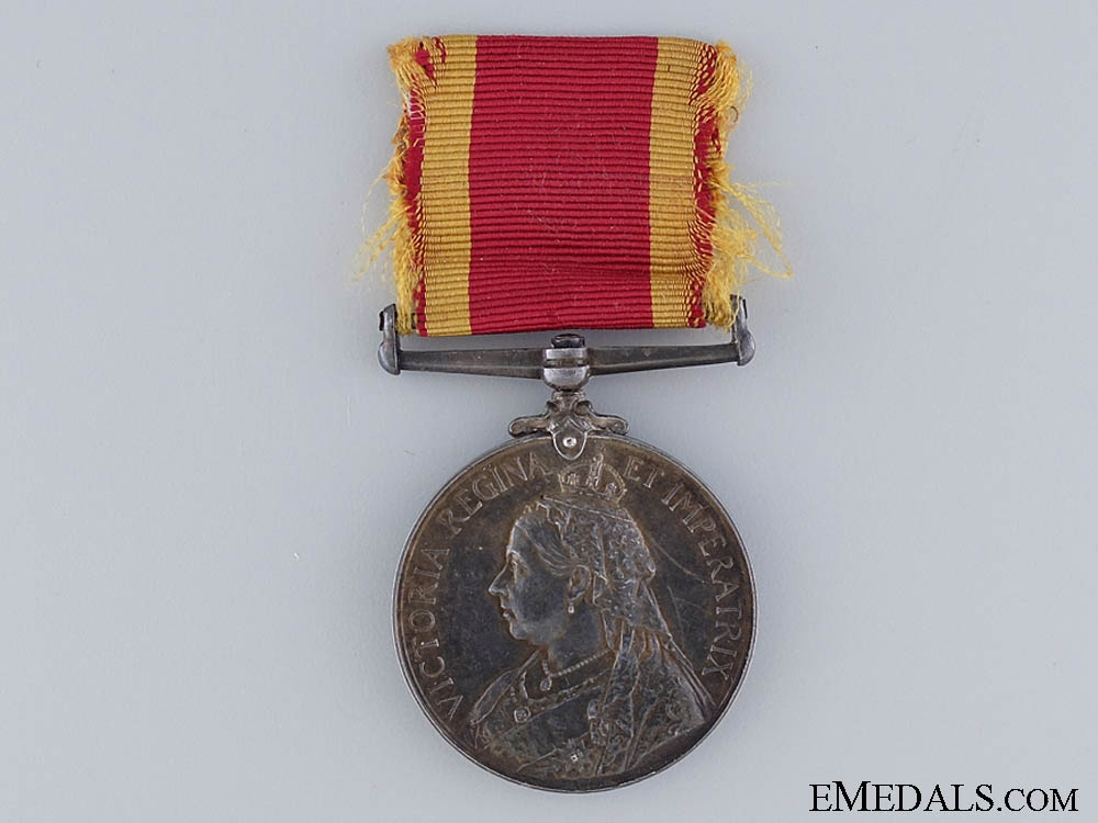 eMedals-A 1900 China War Medal to the Shanghai Volunteers