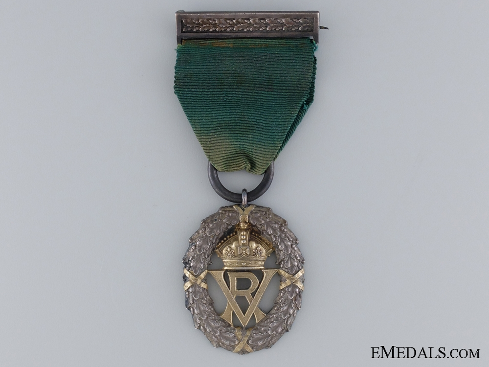 eMedals-A 1901 Victorian Volunteer Officer's Decoration