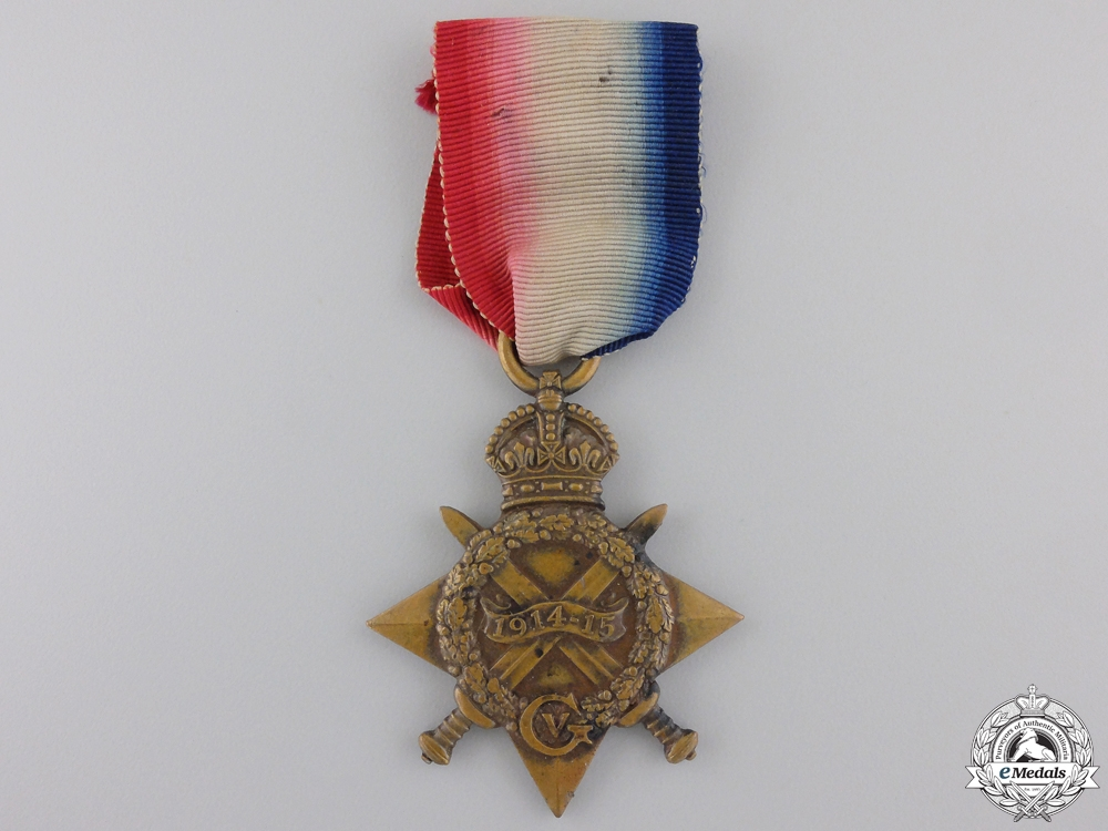eMedals-A 1914-15 Star to the 2nd Battalion; Wounded on the Somme