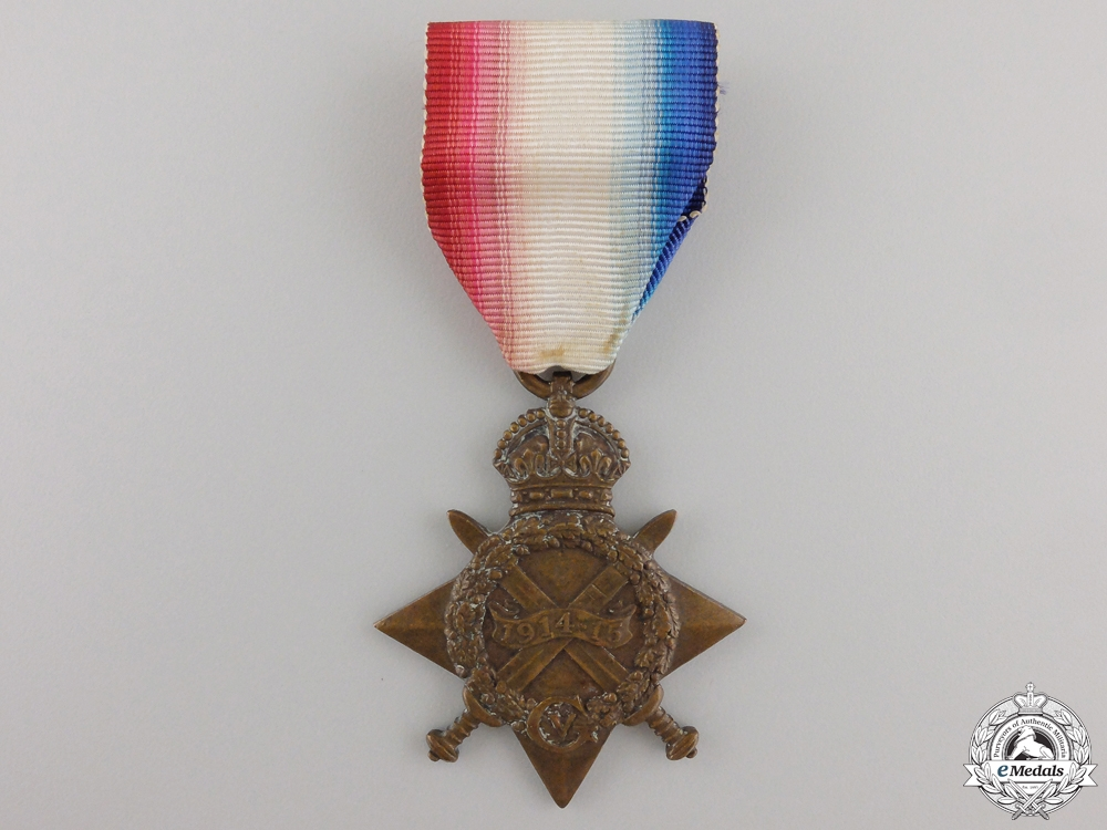 eMedals-A 1914-15 Star to the 14th Canadian Infantry Battalion