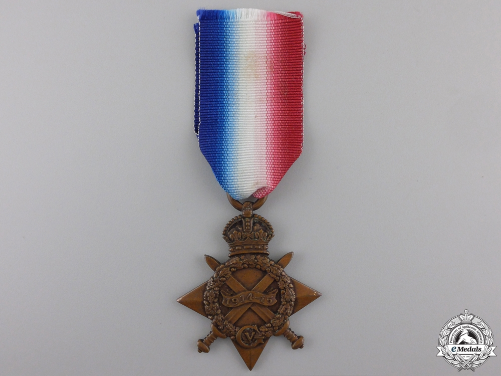 eMedals-A 1914-15 Campaign Star to the Argyll & Sutherland Highlanders