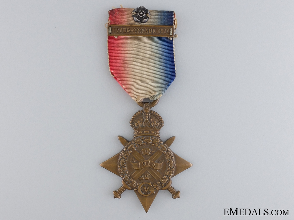 eMedals-A 1914 Mons Star with Clasp & Rosette to the Royal Marines  consignment 17
