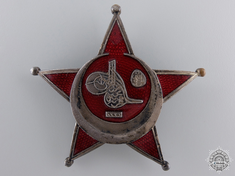 eMedals-A1915 Campaign Star (Iron Crescent); German Made