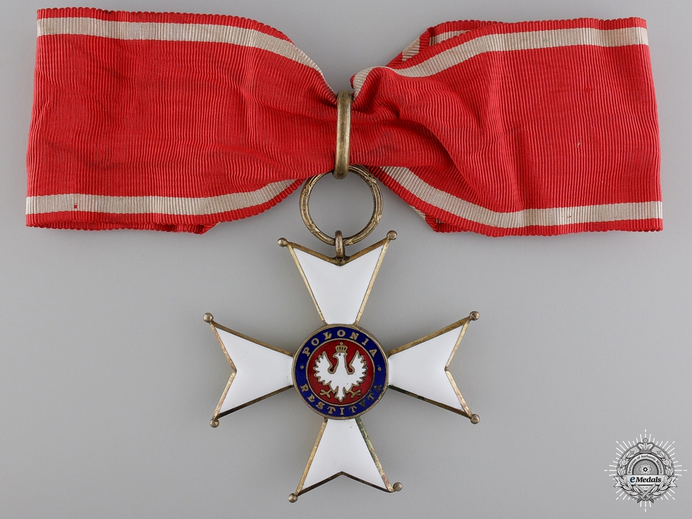 eMedals-A 1918 Order of Polonia Restituta; Commander's Cross