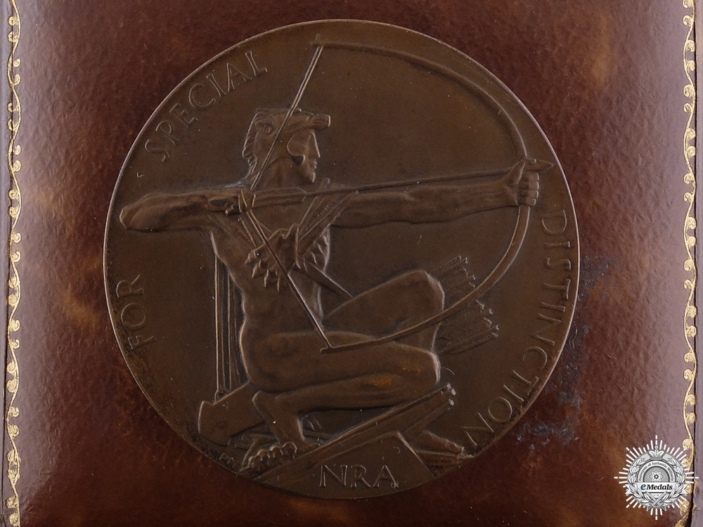 eMedals-A 1929 King's Competition Medal for the National Rifle Association  Consignment #26