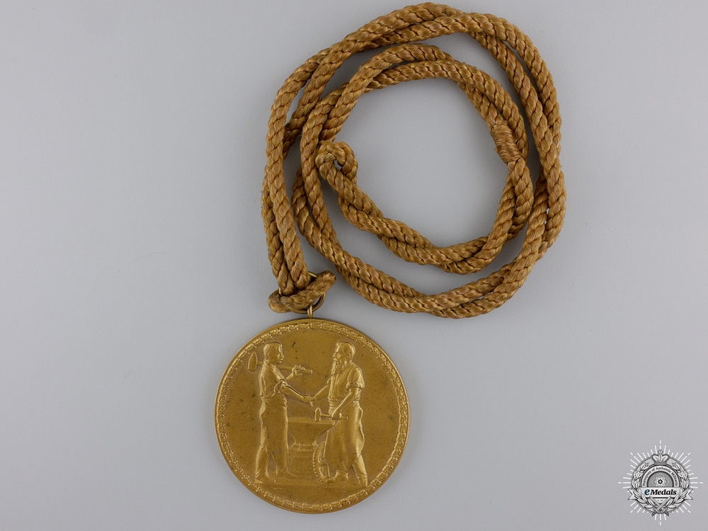 eMedals-A 1935 Middle Franconia Chamber of Industry Faithful Service Medal