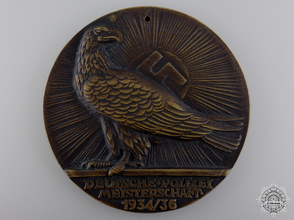 eMedals-A 1936 German Police Honour Award