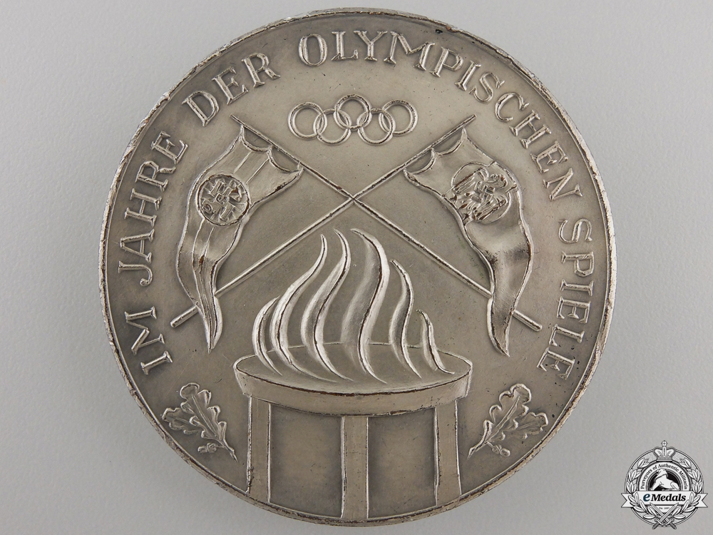 eMedals-A 1936 Germany Olympic Games Award