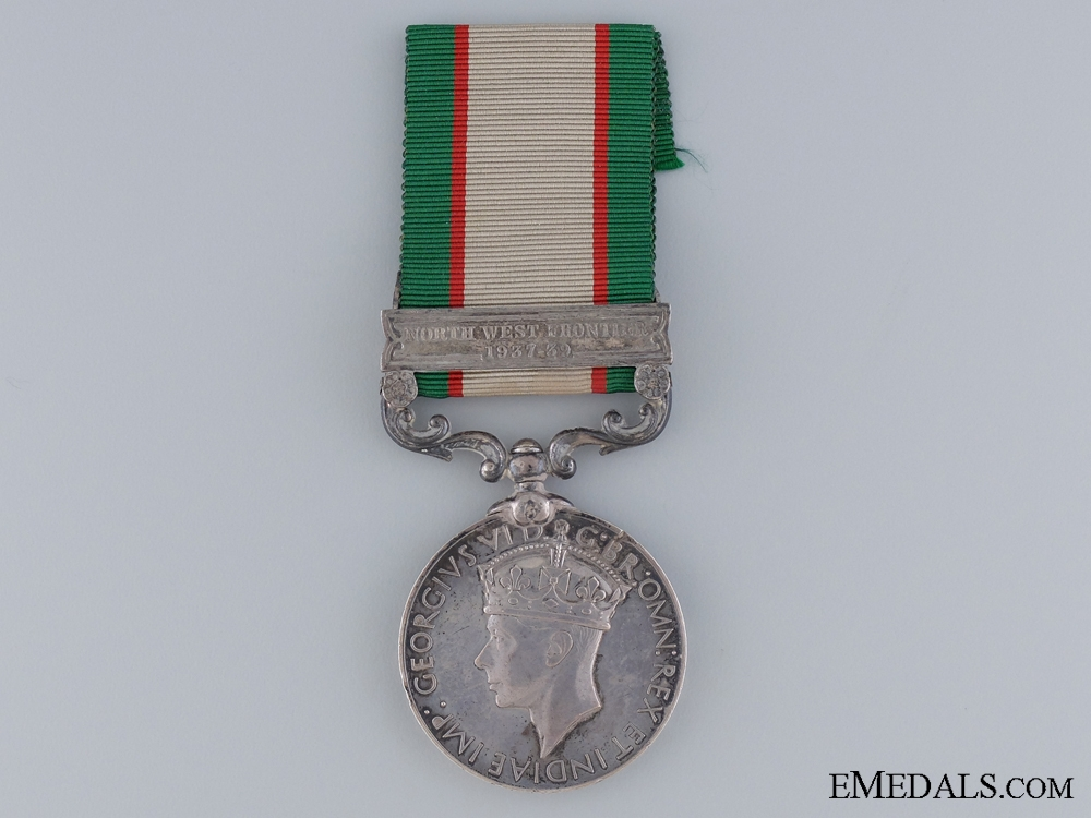 eMedals-A 1936 India General Service Medal to the Frontier Corps