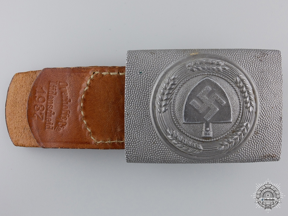 eMedals-A 1936 RAD Belt Buckle by OLC
