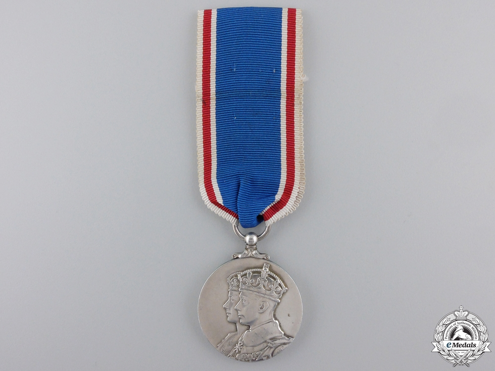 eMedals-A 1937 George VI Coronation Medal