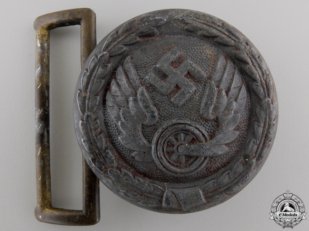 eMedals-A 1940 Pattern German Railway Officer Buckle