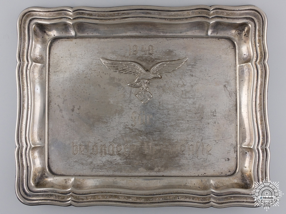 eMedals-A 1940 Luftwafffe Award for Exceptional Service