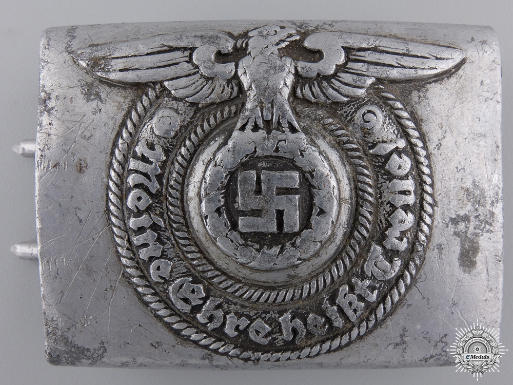eMedals-A 1940 SS EM/NCO'S Buckle by Overhoff & Cie