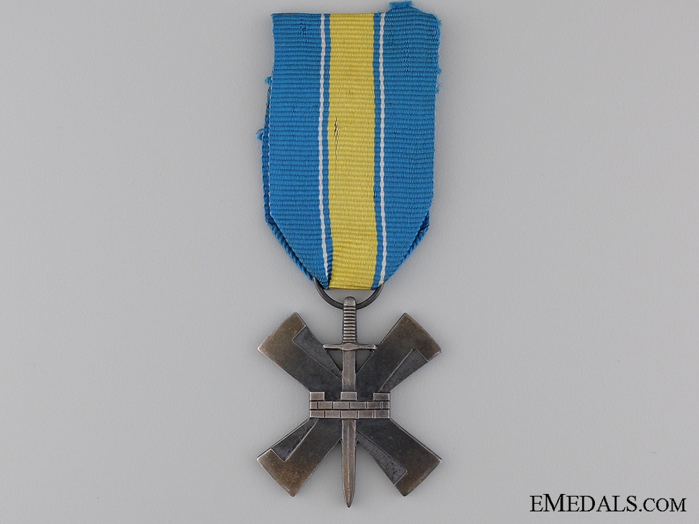 eMedals-A 1941-1944 Finish Eastern Isthmus Campaign Cross