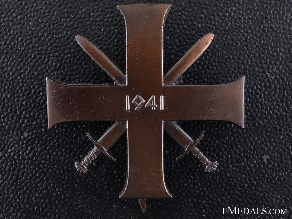 eMedals-A 1941 Norwegian Order for Bravery and Loyalty; First Class