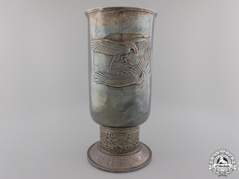 eMedals-A 1941 Luftwaffe Honor Goblet to Pilot Downed over France