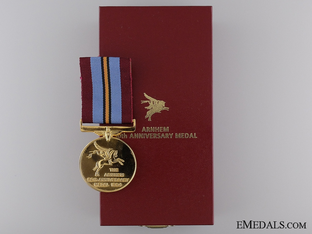 eMedals-A 1944-1994 Arnhem 50th Anniversary Medal with Case