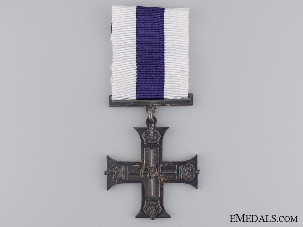 eMedals-A 1945 Second War Military Cross; GRI Issue