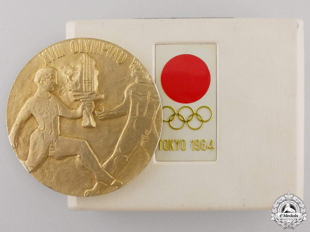 eMedals-A 1964 Tokyo Olympic Commemorative Medal