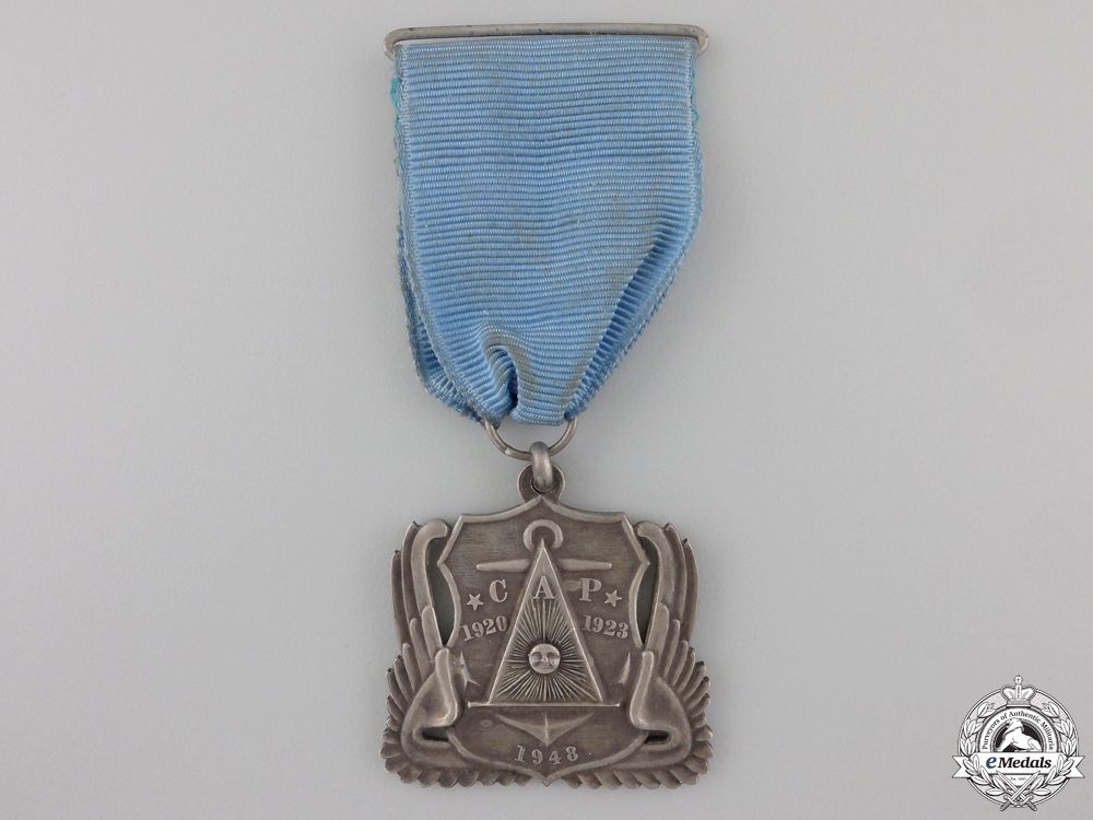 eMedals-A 1948 Argentinean CAP Armed Forces Medal