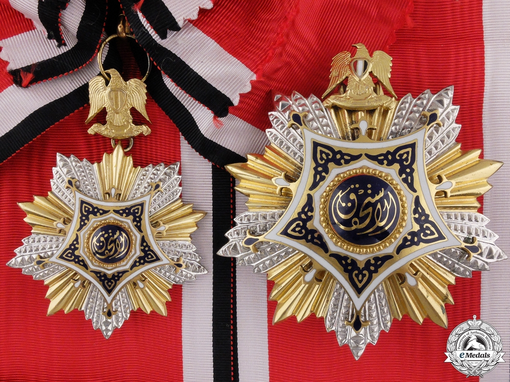 eMedals-A 1953-1972 Egyptian Order of Merit; Grand Cross  by Bichay