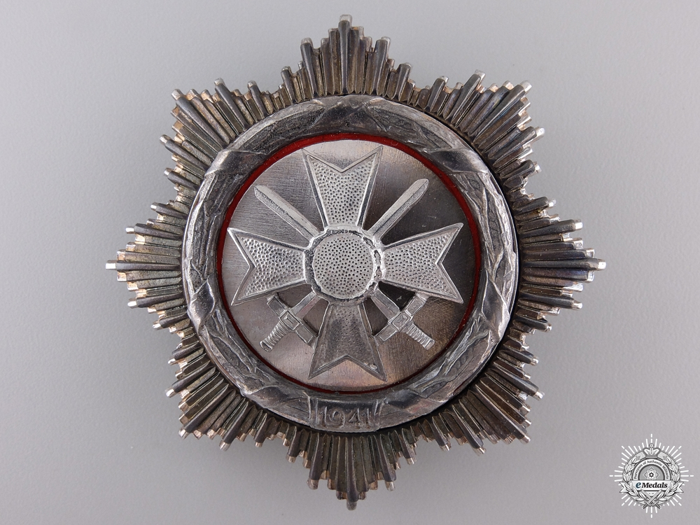eMedals-A 1957 Issued German Cross in Silver