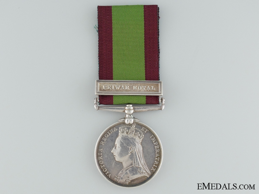 eMedals-Afghan Medal to E Battery B Brigade for the Battle of Maiwand