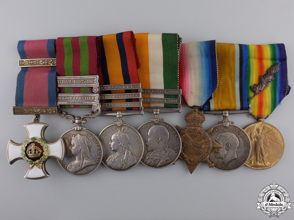 eMedals-A  Distinguished Service Order to  Lieutenant-Colonel William F. T. Corrie