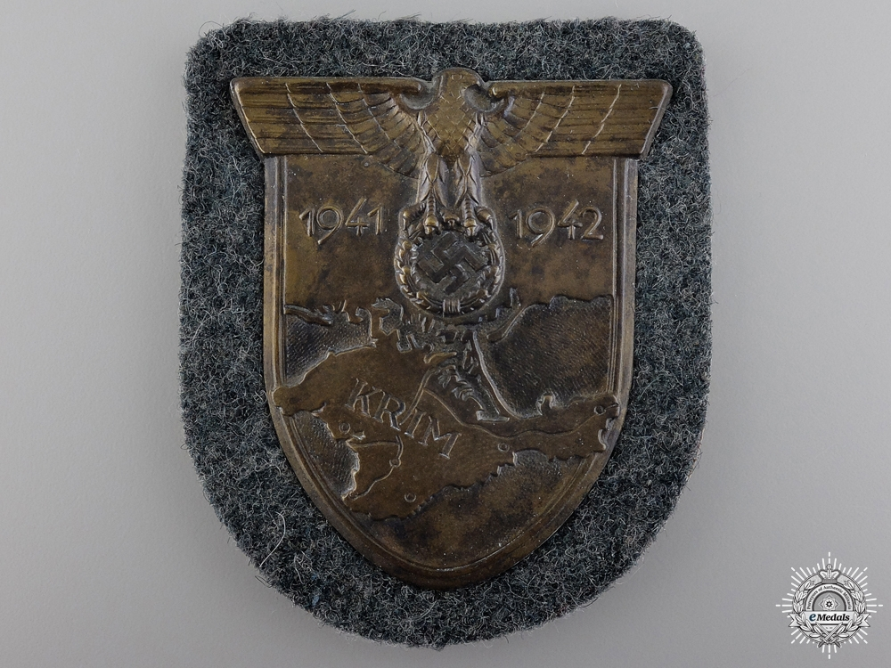 eMedals-A Army Issued Krim Campaign Shield