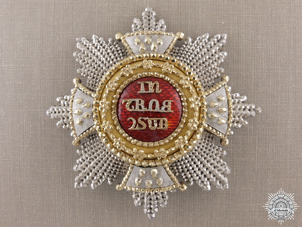 eMedals-A Bavarian House Knightly Order of St. Hubert; Grand Cross