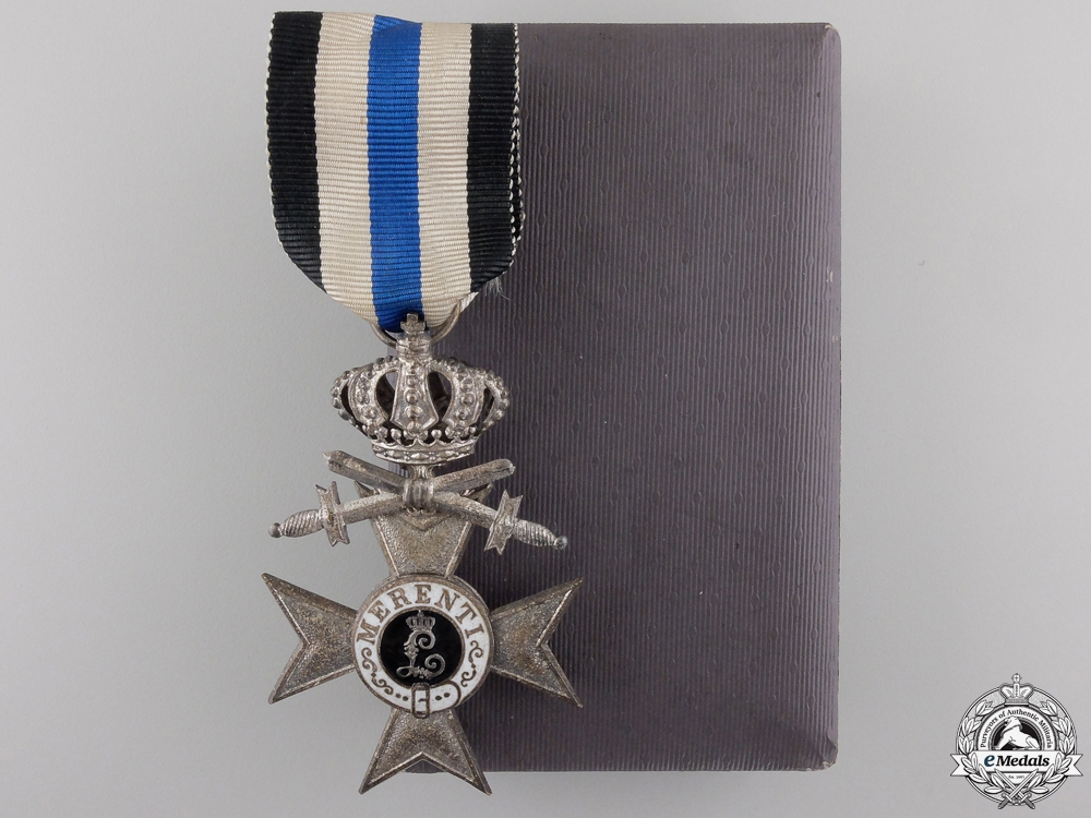 eMedals-A Bavarian Military Merit Cross 2nd Class with Crown