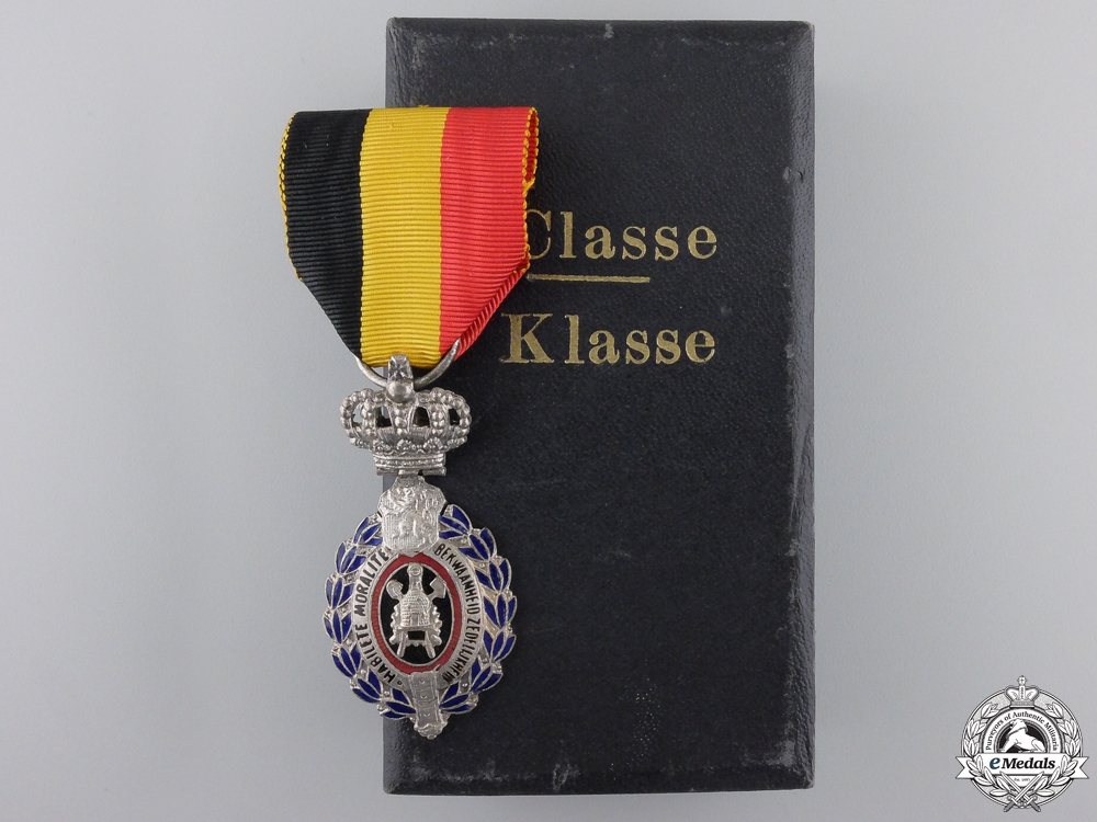 eMedals-A Belgian Decoration for Workers and Artisans; 2nd Class