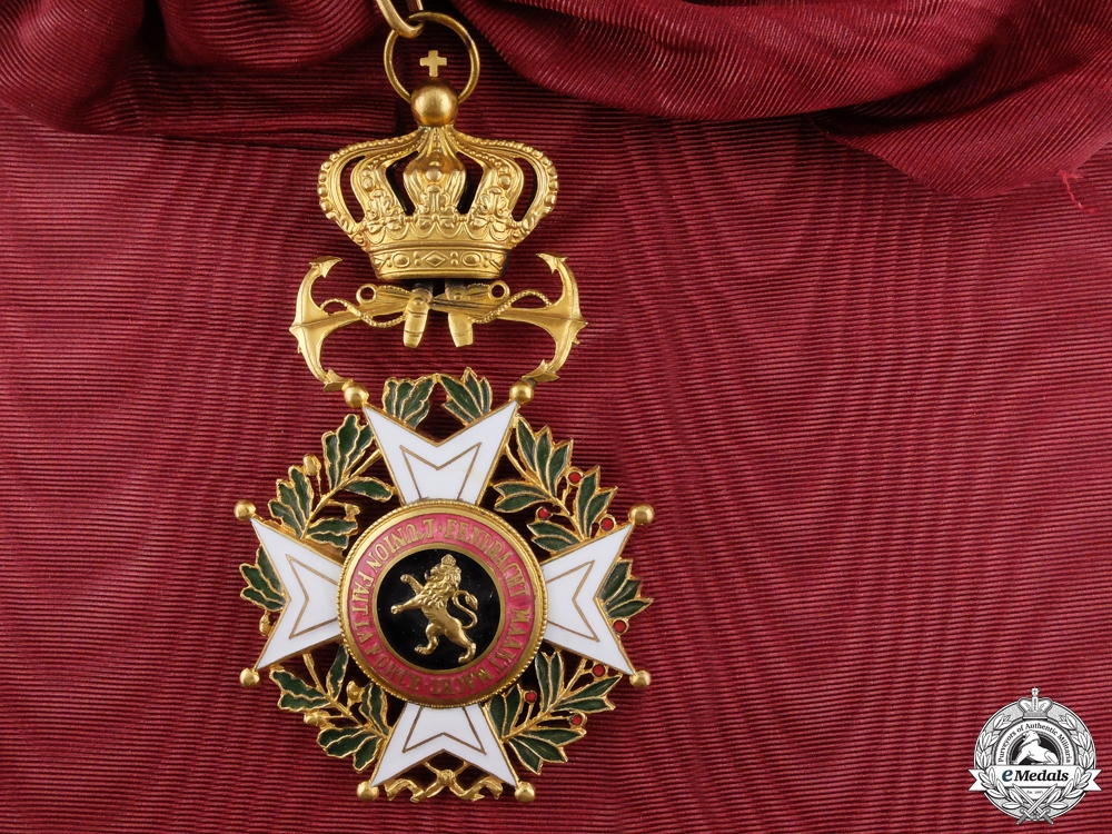 eMedals-A Belgian Order of Leopold; Naval Grand Cross
