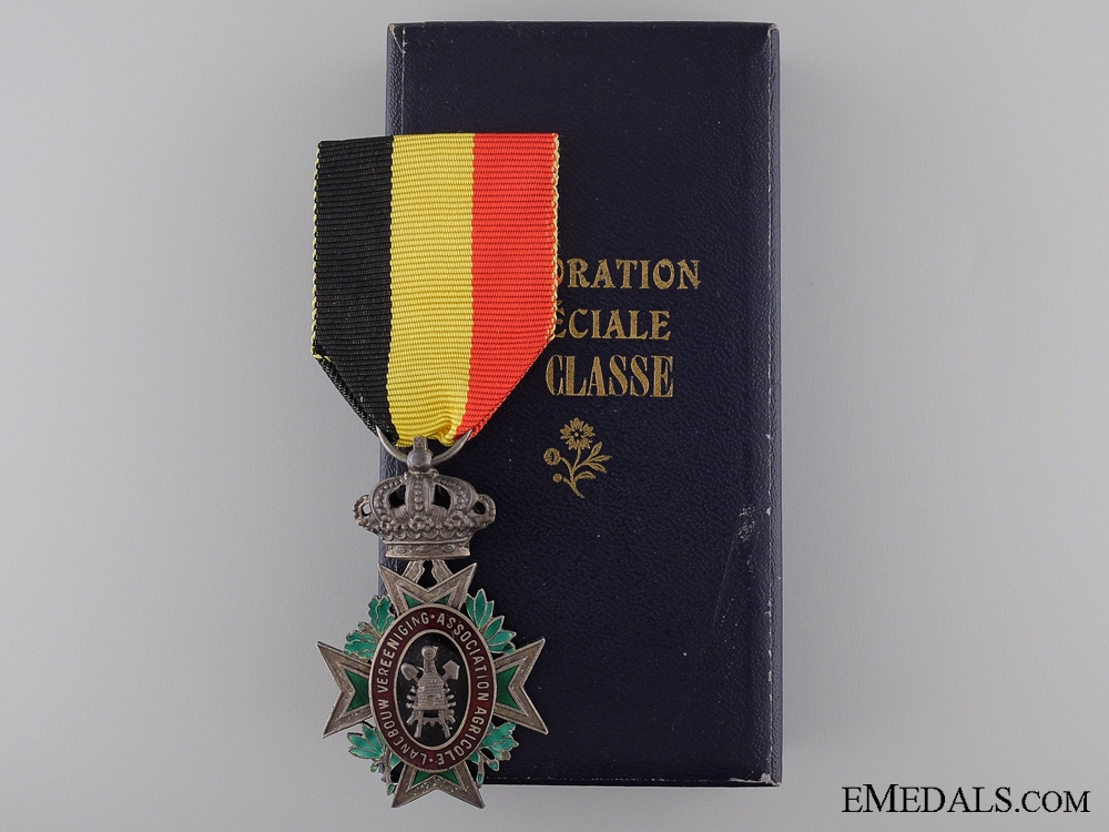 eMedals-A Belgian Special Decoration for Industry and Agriculture; 2nd Class