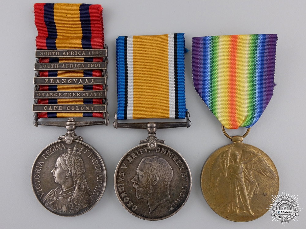 eMedals-A Boer & First War Group to the Imperial Yeomanry
