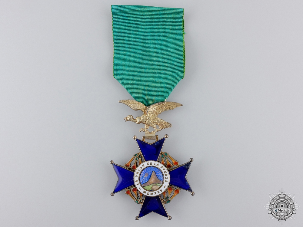 eMedals-A Bolivian Order of Condor of the Andes; Knight