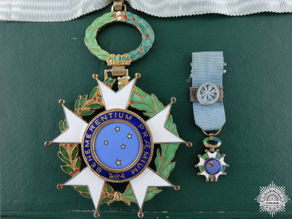 eMedals-A Brazilian National Order of the Southern Cross; Commander's
