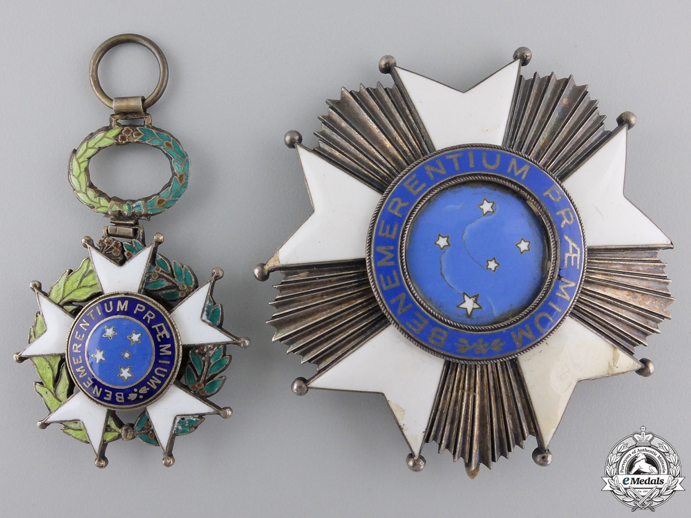 eMedals-A Brazilian National Order of the Southern Cross; Grand Cross
