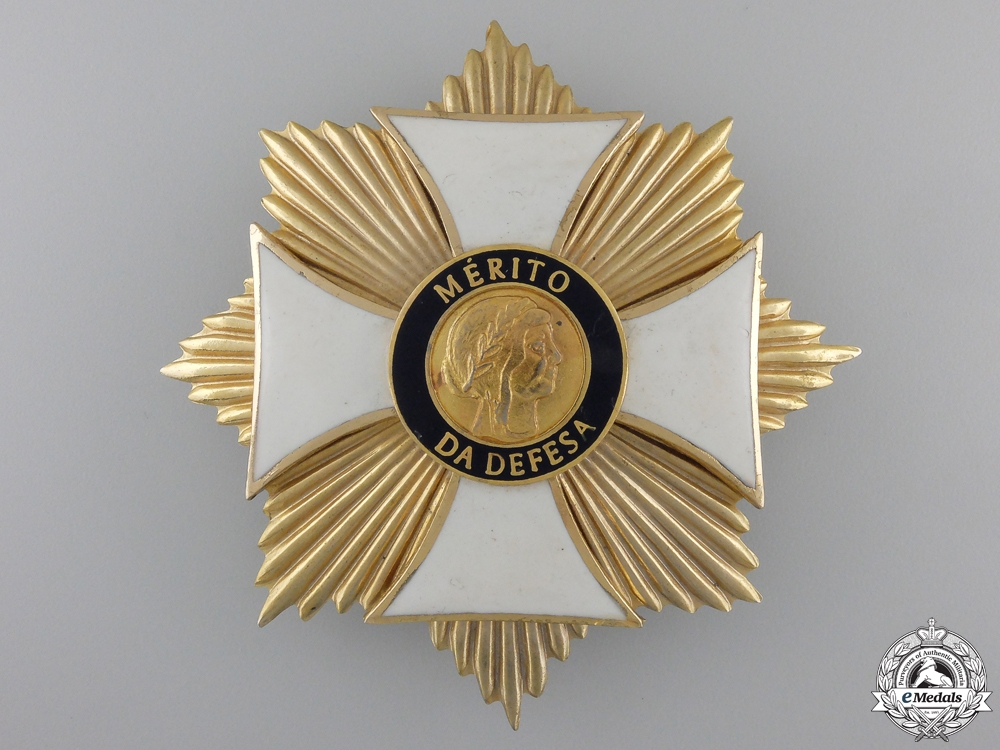eMedals-A Brazilian Order of Merit for Defence; Grand Cross Breast Star
