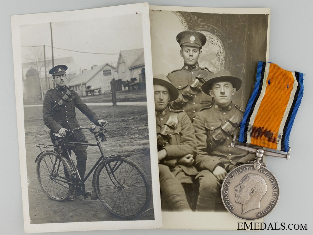 eMedals-A British 1914-18 War Medal to the 22nd Regiment CEF