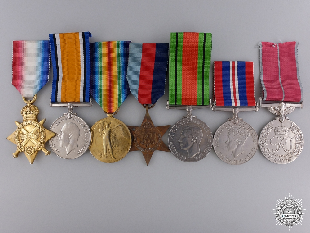 eMedals-A British Empire Medal Group to the Royal Navy