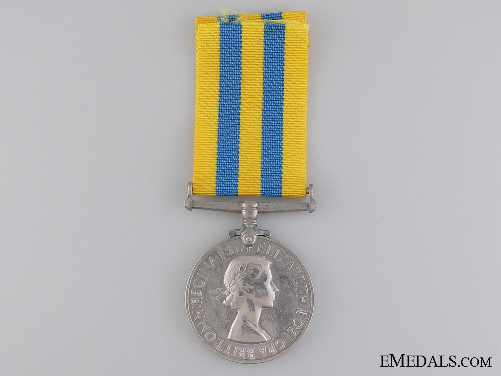 eMedals-A British Korea Medal to the Royal Marines