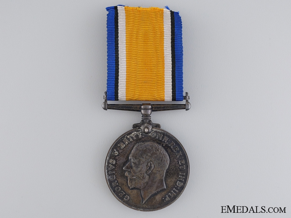 eMedals-A British War Medal to the 4 Canadian Infantry