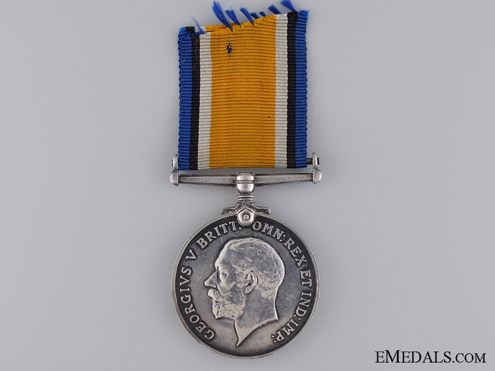 eMedals-A British War Medal to the Royal Fusiliers; Somme KIA