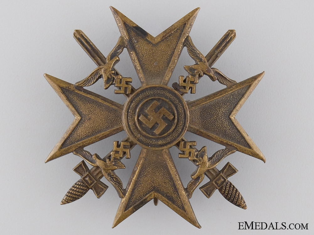 eMedals-A Spanish Cross with Swords by Juncker