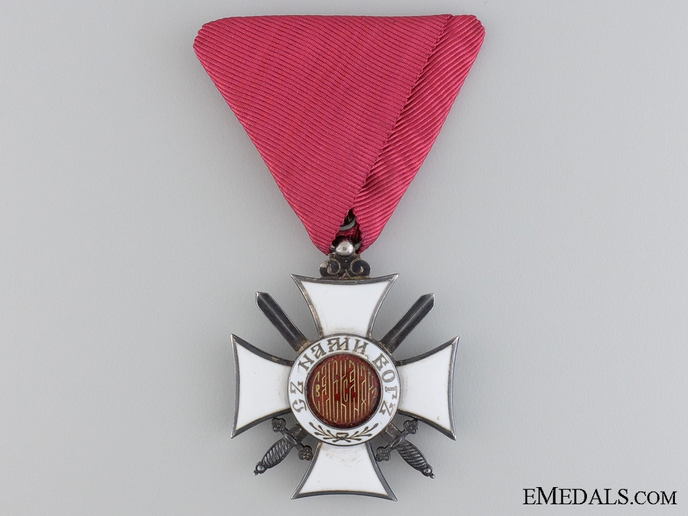 eMedals-A Bulgarian Order of St. Alexander with Swords
