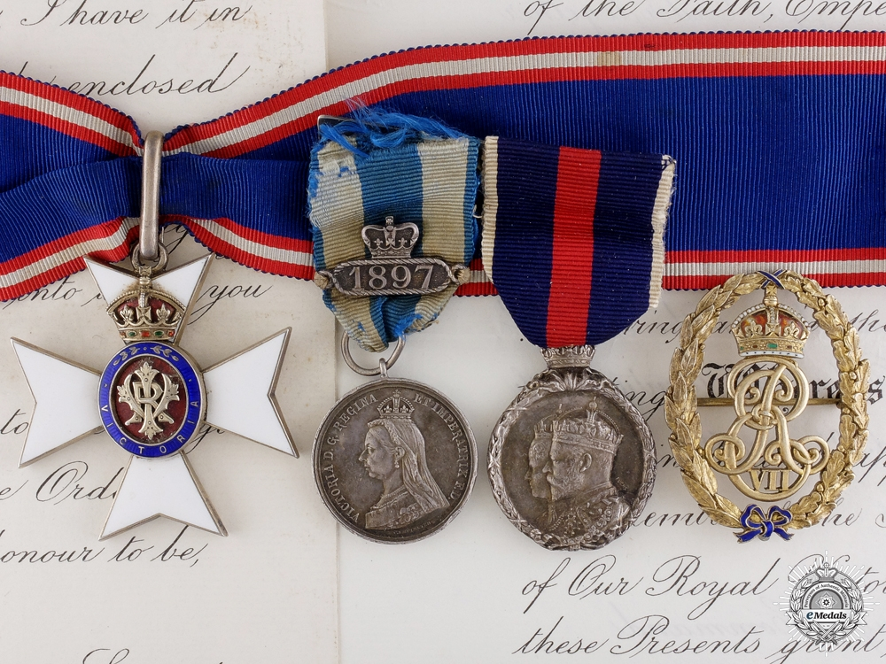 eMedals-A C.V.O. group to Chaplain in Ordinary to Queen Victoria