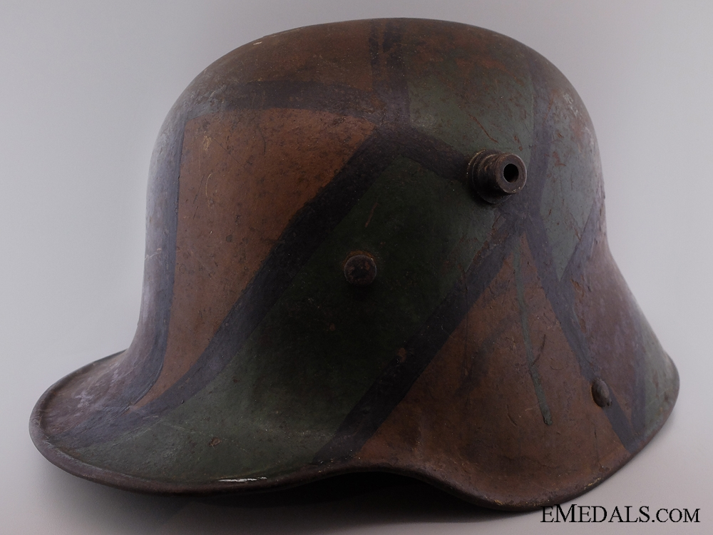 eMedals-Camouflage Stahlhelm M16; Brought Back by 48th Highlander